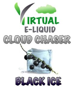 Blackcurrant menthol e-liquid