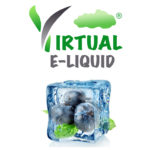 Blueberry menthol e liquid
